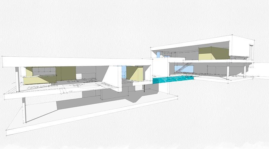 orus + partner architekten | C pavilion houses, project 2014