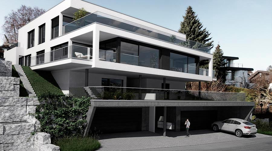 orus + partner architekten | Os house, multi family, project 2013