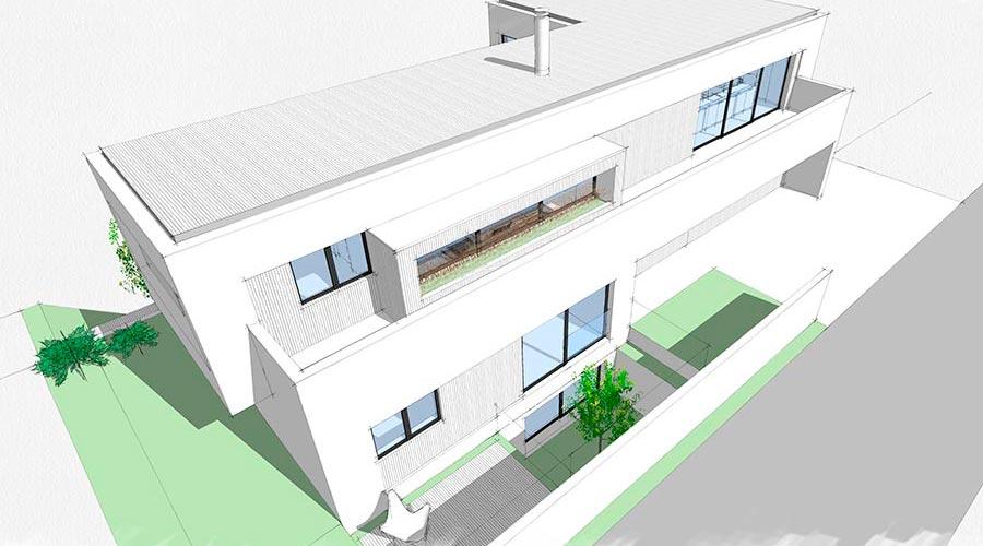 orus + partner architekten | P2 house, single family, in-progress