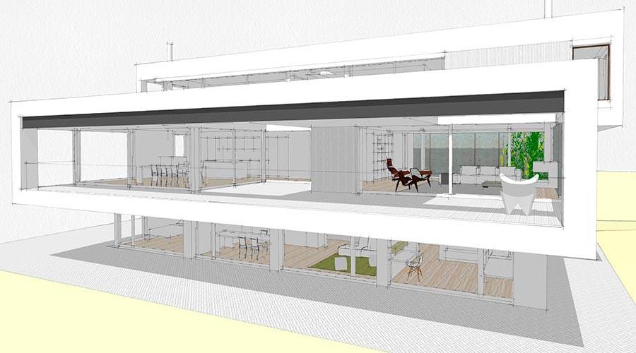 orus + partner architekten vO house, single family, in-progress